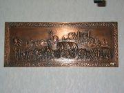 Kupferbild groß Nürnberger Kaufmannszug Kupferstich