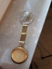IWC Gold - Uhr mit Enzian