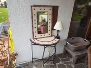 Telefontischchen mit Spiegel (