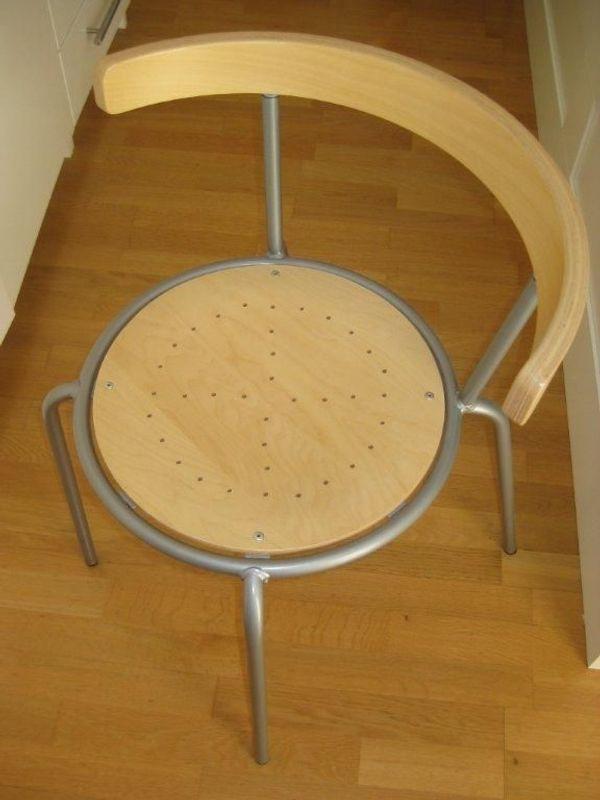 IKEA 4 moderne Stühle mit