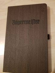 Jägermeister Notizbuch Neu