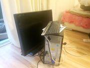 Computer, Monitor, Tastatur