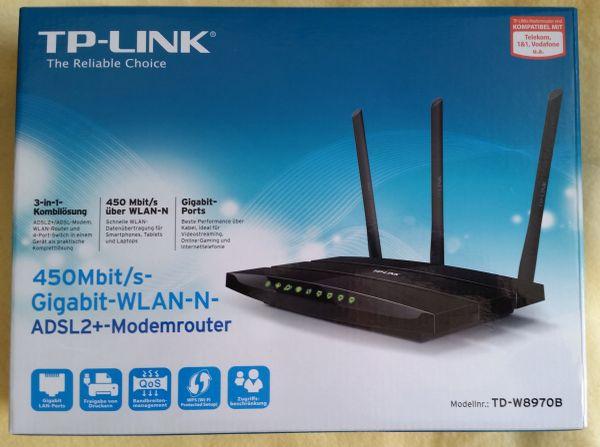TP-Link TD- » DFÜ, Modems, ISDN, DSL