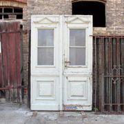 Doppelflügelige Eingangstür, Gründerzeit