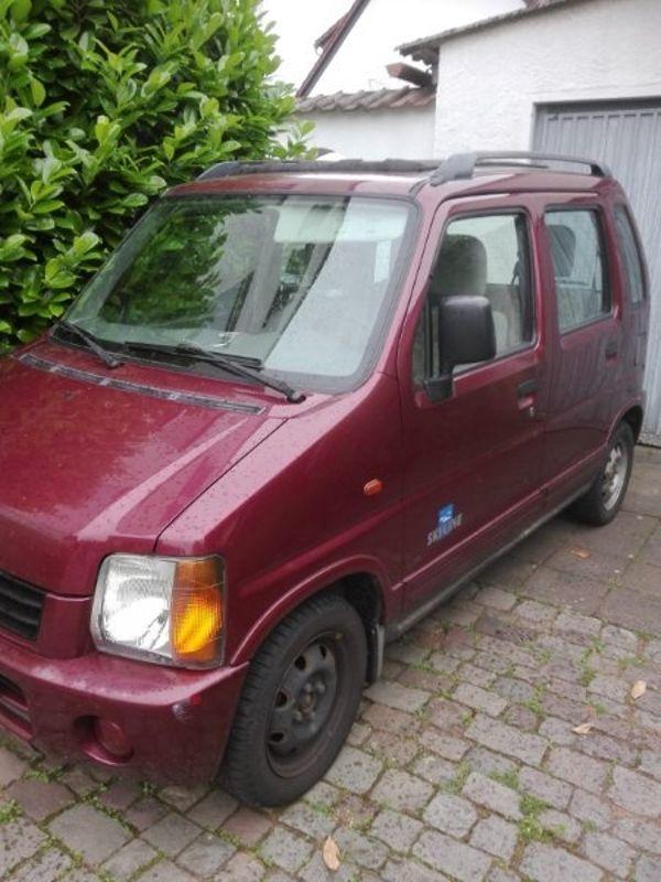 Suzuki Wagon R - Weilerbach - Suzuki, Wagon R+, Van/Kleinbus, Benzin, 48 kW, 123.500 km, EZ 02/2001, Schaltgetriebe, Rot, Nichtraucherfahrzeug. Ich bitte hier an einen Suzuki Wagon R an. Fahrzeug ist fahrbereit und hat noch TÜV bis April 2019 und ist noch angemeldet. 201 - Weilerbach