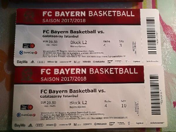 8 fc bayern basketball tickets in ludwigsburg eintrittskarten kaufen und verkaufen ber. Black Bedroom Furniture Sets. Home Design Ideas