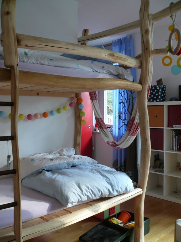 doppelstockbett lilashouse. Black Bedroom Furniture Sets. Home Design Ideas