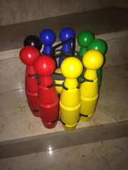 Kegelspiel Plastik Kinder