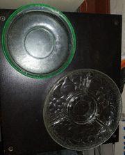 2 Glas Schalen