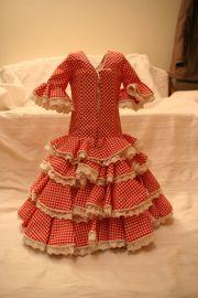 Flamencokleid aus Sevilla,
