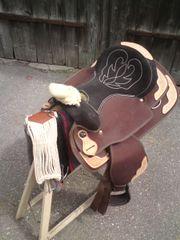 Westernsattel für Ponys