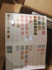 Briefmarken 2 umzugskartons