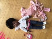 Götz Hannah beim Ballett -afroamerikanische
