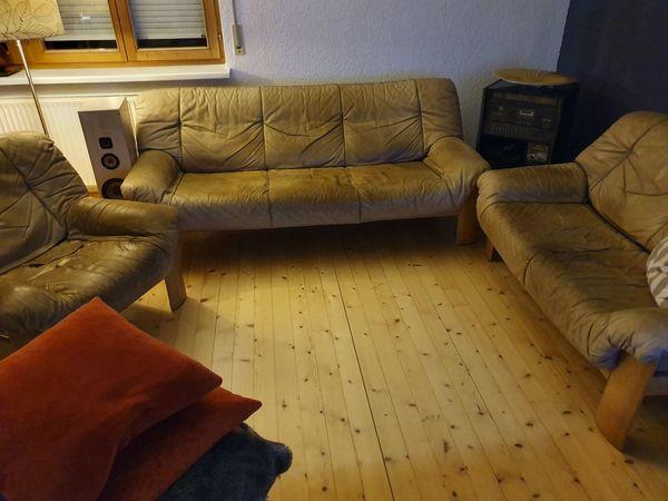 Sitzgarnitur Wohnzimmer Aus Leder In Mader Polster Sessel