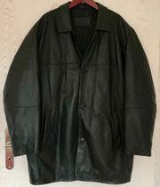 Schwarze Lederjacke Größe