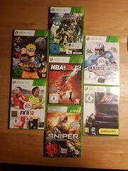 7 Xbox 360 Spiele