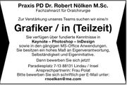 Grafiker in Teilzeit