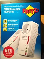 verkaufe fritz powerline 1220E set