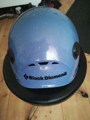 Black Diamond climber helmet