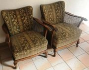 2 Chippendale Sessel