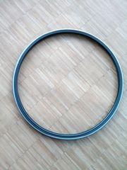 Rennrad-Reifen weiss-schwarz