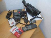 Metz Hi8 9784 Videokamera mit