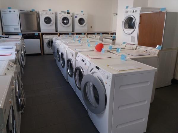 Vekaufe verschiedene gebrauchte haushaltsgeräte wie waschmaschine