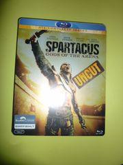 """Blu-ray """"Spartacus"""" God of the Arena UNCUT Die Komplette Season gebraucht kaufen  Frankfurt Fechenheim"""