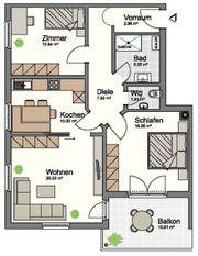 Schöne helle 3-Zimmer Wohnung in