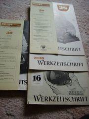 Alte Werkszeitschriften von
