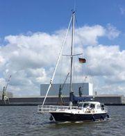 Segelboot 13m aus