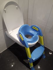 Toilettensitz mit Leiter - zwei verschiedene
