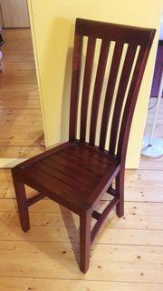 4 Stühle massiv