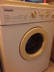 Defekte Waschmaschine an