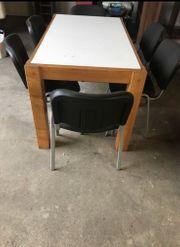 Massiver Holztisch Mit 6 Esstisch