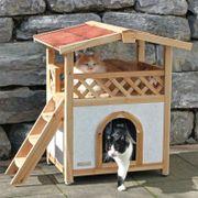 isoliertes Katzenhaus Tyrol