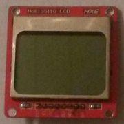 Grafik LCD-Display Nokia 5110 für