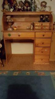 schreibtisch kiefer gebraucht kaufen 4 st bis 75 g nstiger. Black Bedroom Furniture Sets. Home Design Ideas