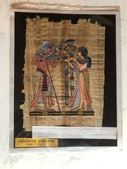 Papyrus Bild Original aus Ägypten