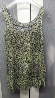 Leoparden Muster Shirt