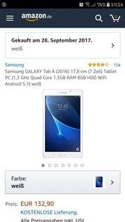 Samsung Tablet.Wie