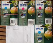 4 x Epson Tinte neu