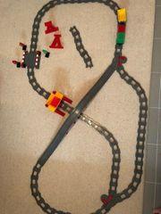 LEGO Duplo Eisenbahnschienen mit Weichen