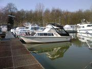 Motorboot Kajüttboot 8m Fly Dieselmotor