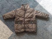 Herbst-Jacke schwarz - Größe 68