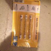Halogenlampenbirnen 230v 2 Päckchen a