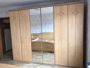 Schlafzimmer helles Holz mit viel
