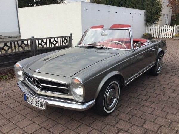 Mercedes 250SL Pagode Automatik-Deutsch - Meersburg - Verkaufe meine Pagode 250 SL mit Automatikgetriebe - Baujahr 1967 Fahrzeug wurde vor einigen Jahren liebevoll und fachmännisch restauriert ( H-Zulassung ). - Meersburg
