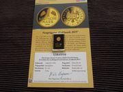 Nachprägung der Gold Mark Deutschland