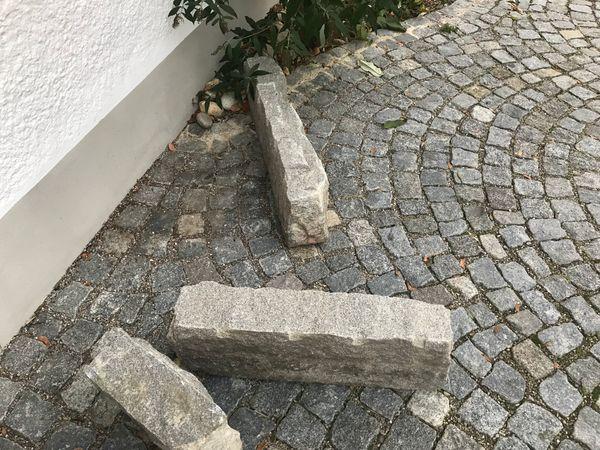 Granitbordsteine Granitsteine Gesamtlange Ca 4 M In Munchen